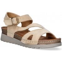 Topánky Ženy Sandále Etika 52655 Hnedá