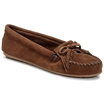 Topánky Ženy Mokasíny Minnetonka KILTY Hnedá