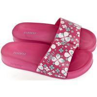 Topánky Ženy športové šľapky Wink Dámske tmavo-ružové šľapky MISCHA ružová