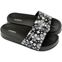 Topánky Ženy športové šľapky Wink Dámske čierne šľapky MISCHA čierna
