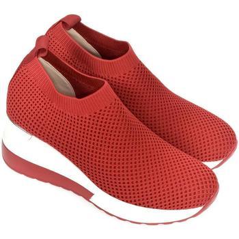 Topánky Ženy Slip-on Bosido Dámske červené poltopánky RHIANNA červená