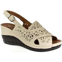 Topánky Ženy Sandále Bosido Dámske béžové sandále PAIGE béžová