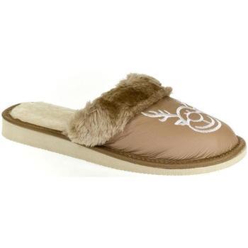 Topánky Ženy Papuče John-C Dámske hnedé papuče SOBIK ťavia