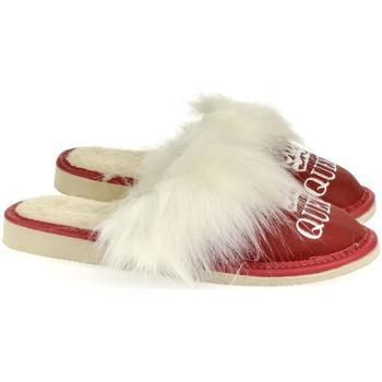 Topánky Ženy Papuče John-C Dámske červené papuče QUEEN červená