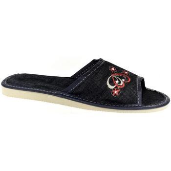 Topánky Ženy Papuče John-C Dámske tmavo-modré papuče ELLA tmavomodrá