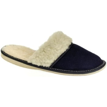 Topánky Ženy Papuče John-C Dámske tmavo-modré papuče MIŠA tmavomodrá