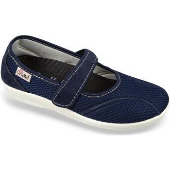 Topánky Ženy Papuče Mjartan Dámske modré papuče  NELLY tmavomodrá