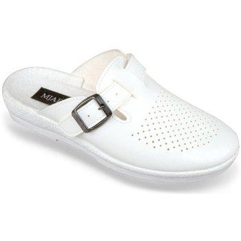 Topánky Ženy Nazuvky Mjartan Dámske biele papuče  ANDREJKA biela