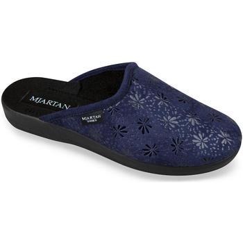 Topánky Ženy Papuče Mjartan Dámske modré papuče  IVANKA tmavomodrá