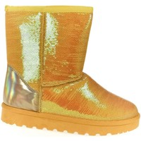 Topánky Ženy Snehule  Comer Dámske trblietavé žlté mamusky HALEY žltá