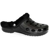 Topánky Ženy Papuče John-C Dámske čierne gumené šlapky FLAME IVY čierna