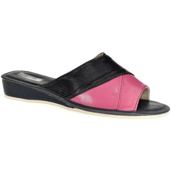 Topánky Ženy Papuče John-C Dámske Tmavomodro-ružové papuče RITA tmavomodrá