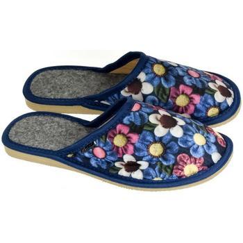 Topánky Ženy Papuče John-C Dámske modré papuče AMALIA modrá