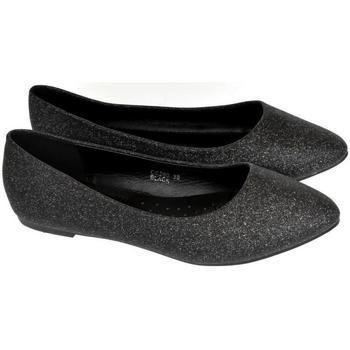 Topánky Ženy Balerínky a babies Seastar Dámske čierne baleríny LUCI čierna