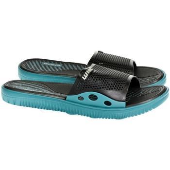 Topánky Muži športové šľapky Wink Pánske čierne šľapky  LARSON čierna