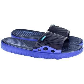 Topánky Muži športové šľapky Wink Pánske modré šľapky  LARSON tmavomodrá
