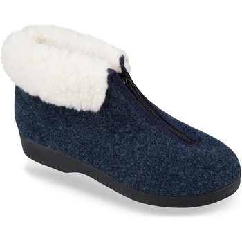 Topánky Ženy Papuče Mjartan Dámske papuče  ETELA 3 tmavomodrá