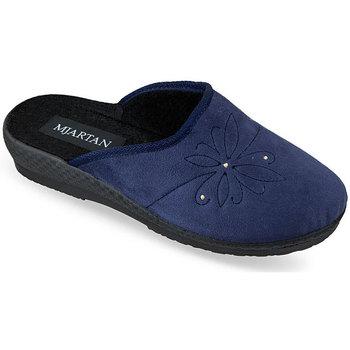 Topánky Ženy Papuče Mjartan Dámske modré papuče  SOŇA modrá