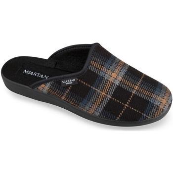 Topánky Muži Papuče Mjartan Pánske papuče  EDO čierna