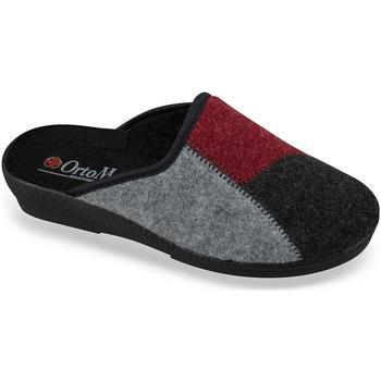 Topánky Ženy Papuče Mjartan Dámske čiernobiele papuče  BLACKIE čierna