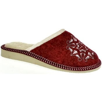 Topánky Ženy Papuče John-C Dámske bordové papuče JELKA bordová