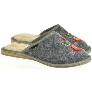 Topánky Ženy Papuče Just Mazzoni Dámske sivé papuče LYANA sivá