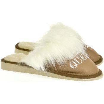Topánky Ženy Papuče John-C Dámske hnedé papuče QUEEN ťavia