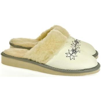 Topánky Ženy Papuče John-C Dámske biele papuče CHRISTI biela