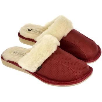 Topánky Ženy Papuče Just Mazzoni Dámske luxusné kožené papuče GITA červená
