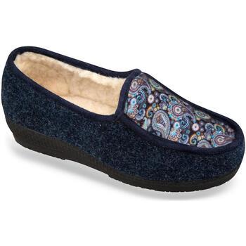 Topánky Ženy Papuče Mjartan Dámske papuče  ZUZANA tmavomodrá