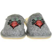 Topánky Ženy Papuče Just Mazzoni Dámske sivé papuče ROMANA sivá