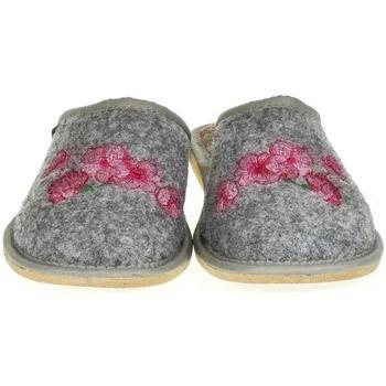 Topánky Ženy Papuče Just Mazzoni Dámske sivé papuče PETRANA sivá
