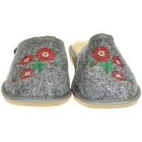 Topánky Ženy Papuče Just Mazzoni Dámske sivé papuče PETRA sivá