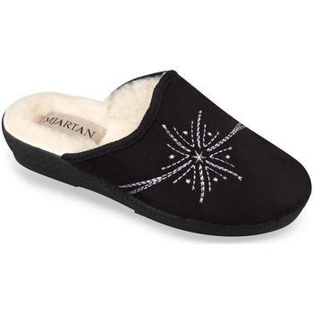 Topánky Ženy Papuče Mjartan Dámske papuče  HELEN 2 čierna