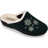 Topánky Ženy Papuče Mjartan Dámske papuče  LISA 5 tmavozelená