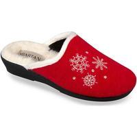 Topánky Ženy Papuče Mjartan Dámske papuče  LISA 4 červená