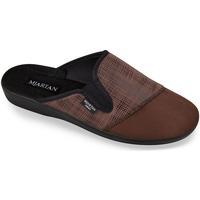 Topánky Muži Papuče Mjartan Pánske papuče  PALO 3 hnedá