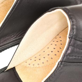 Topánky Muži Papuče Just Mazzoni Luxusné pánske čierne kožené papuče GERRY čierna