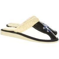 Topánky Ženy Papuče John-C Dámske čierne papuče DÚBRAVKA čierna