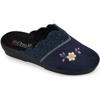 Topánky Ženy Papuče Mjartan Dámske modré papuče  ALALIE tmavomodrá