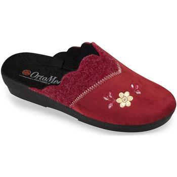 Topánky Ženy Papuče Mjartan Dámske bordové papuče  LIV bordová