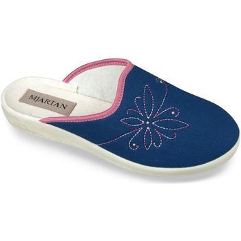 Topánky Ženy Papuče Mjartan Dámske modré papuče  DANKA tmavomodrá