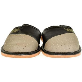 Topánky Muži Papuče John-C Pánske sivé papuče VIPMEN sivá