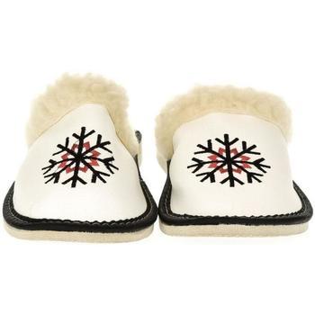 Topánky Ženy Papuče John-C Dámske biele papuče LINA biela