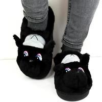 Topánky Ženy Papuče Seastar Dámske čierne papuče KAYLA čierna