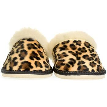 Topánky Ženy Papuče John-C Dámske hnedé papuče MILOTA ťavia