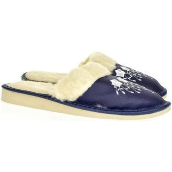 Topánky Ženy Papuče John-C Dámske tmavomodré papuče MATILDA tmavomodrá