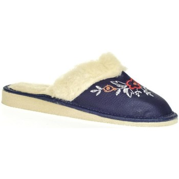 Topánky Ženy Papuče John-C Dámske modré papuče SILVANA tmavomodrá