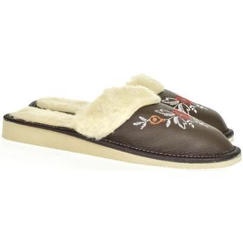 Topánky Ženy Papuče John-C Dámske tmavosivé papuče SILVANA tmavosivá