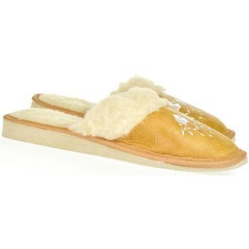 Topánky Ženy Papuče John-C Dámske žlté papuče MATILDA žltá